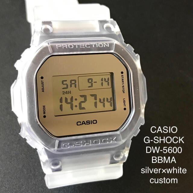 【ほぼ新品】CASIO G-SHOCK DW-5600BBMA 腕時計の通販
