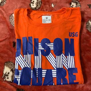 ユニゾンスクエアガーデン(UNISON SQUARE GARDEN)のUNISON SQUARE GARDEN Tシャツ Mサイズ(ミュージシャン)