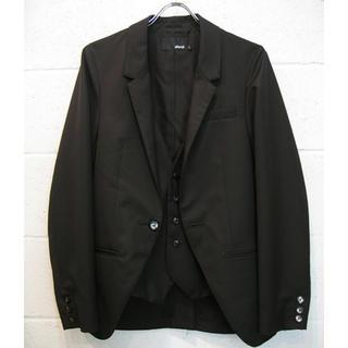 グラム(glamb)の【glamb】クリスチャンテイラードジャケット  グレー  サイズ3  美品(テーラードジャケット)