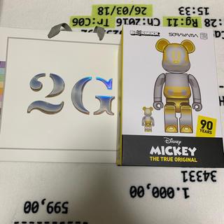 メディコムトイ(MEDICOM TOY)のBE@RBRICK FUTURE MICKEY 100% & 400% ミッキー(その他)