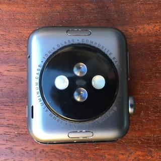 アップルウォッチ(Apple Watch)のApple Watch Series 1, Gray Al, 38m(スマートフォン本体)