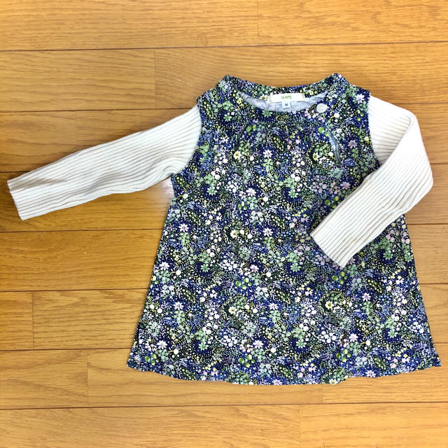 SHIPS(シップス)の子供服 女の子 シップスSHIPS 80cm キッズ/ベビー/マタニティのベビー服(~85cm)(ニット/セーター)の商品写真