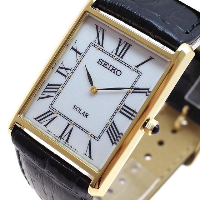 SEIKO - セイコー SEIKO 腕時計 メンズ レディース クォーツ ホワイト ブラックの通販