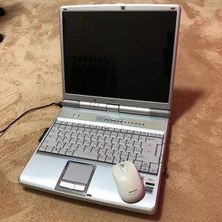 シャープ(SHARP)のSHARP PC-SV1-7DB Mebius メビウス ノートパソコン 15型(ノートPC)