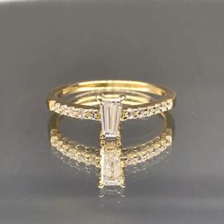 バケットリング ダイヤモンド(リング(指輪))