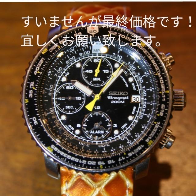 SEIKO - セイコー SEIKO 腕時計 クロノグラフ  逆輸入モデルの通販