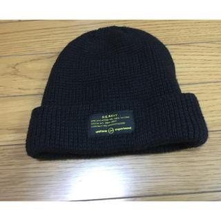 ユニフォームエクスペリメント(uniform experiment)の中古ユニフォームエクスぺリメントuniform experimentキャップ帽子(ニット帽/ビーニー)