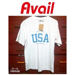 アベイル(Avail)の新品未使用 タグ付き Avail アベイル メンズ Tシャツ ロゴ USA(Tシャツ/カットソー(半袖/袖なし))