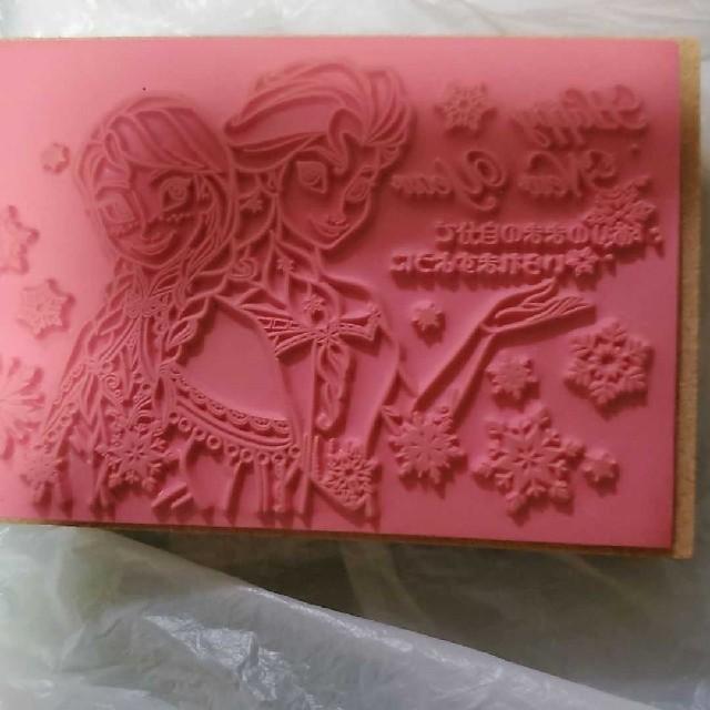 Disney(ディズニー)のアナと雪の女王年賀はんこ ハンドメイドの文具/ステーショナリー(はんこ)の商品写真