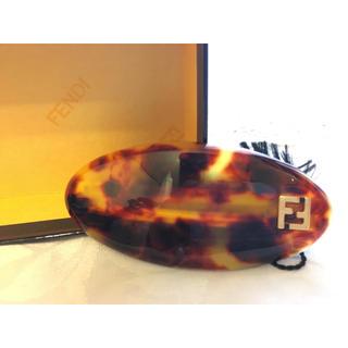 フェンディ(FENDI)の【FENDI】フェンディ FFロゴ べっ甲柄 バレッタ 髪留め(バレッタ/ヘアクリップ)
