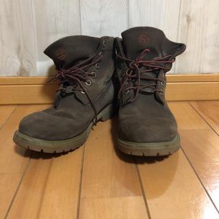 ティンバーランド(Timberland)のティンバーランド ブーツ ロールトップ  ブラウン3720R (ブーツ)