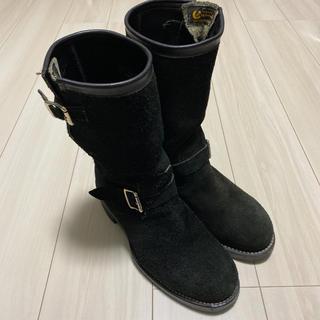 チペワ(CHIPPEWA)のchippewa エンジニアブーツ スエード ブラック 8 1/2 E キムタク(ブーツ)