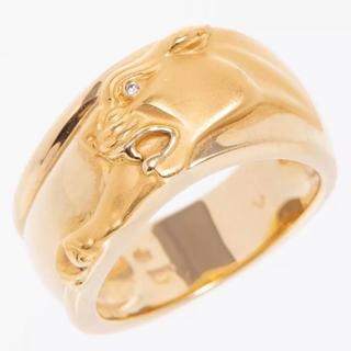 カレライカレラ パンサーヒョウリング指輪ダイヤ#53(リング(指輪))