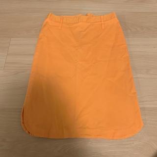 ディーアンドジー(D&G)のD&G スカート オレンジ(ミニスカート)