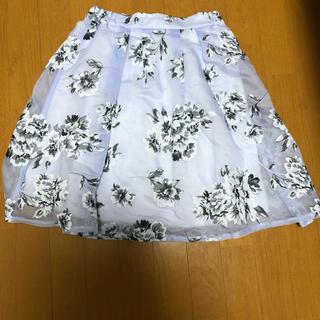 ページボーイ(PAGEBOY)のページボーイ⭐︎花柄スカート(ひざ丈スカート)