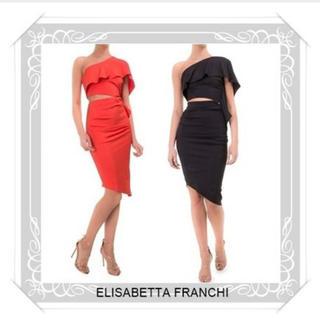 ELISABETTA FRANCHI(エリザベッタ フランキ)ドレス(ひざ丈ワンピース)