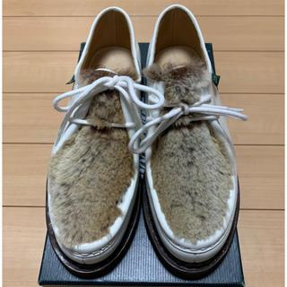 パラブーツ(Paraboot)の新品 同様 パラブーツ レディース ミカエル ラパン サイズ4(ローファー/革靴)