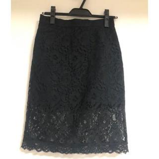 デイシー(deicy)のレースタイトスカート(ひざ丈スカート)