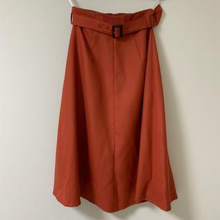ナチュラルビューティーベーシック(NATURAL BEAUTY BASIC)のナチュラルビューティーベーシック フレアスカート(ひざ丈スカート)