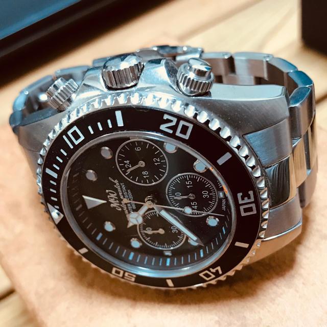 日本製 ダイバーズウォッチ 腕時計 クロノグラフの通販