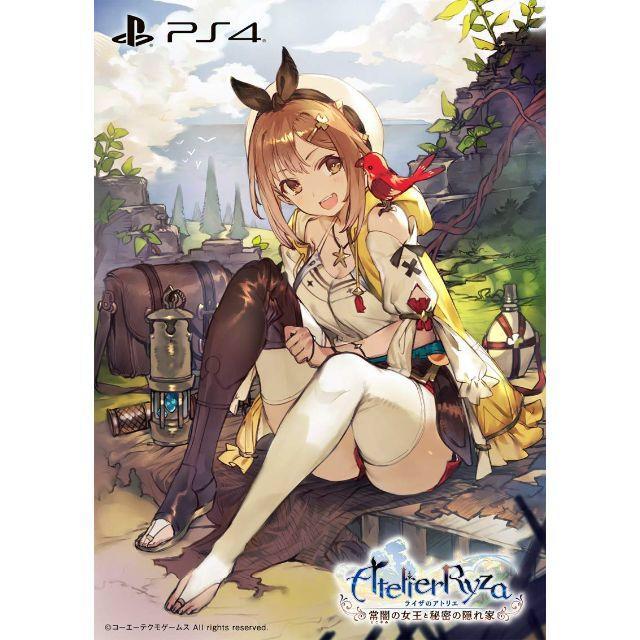 新品/ PlayStation 4 PS4 送料無料 プレミアムボックス 常闇の女王と秘密の隠れ家 ライザのアトリエ
