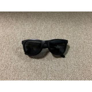 ユニクロ(UNIQLO)のUNIQLO 新品未使用 スポーツウェリントンサングラス ブラック マット 黒(サングラス/メガネ)