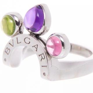 ブルガリ(BVLGARI)のブルガリ アレグラ リング マルチカラー18金WG#51(リング(指輪))
