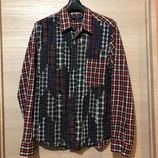 コムデギャルソン(COMME des GARCONS)のコムデギャルソン パッチワークシャツ(シャツ)