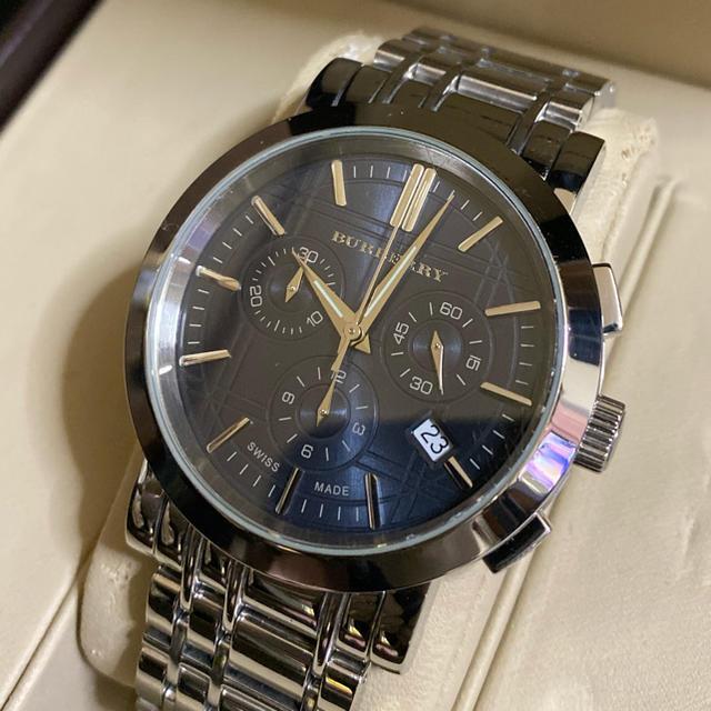 BURBERRY - BURBERRYバーバリー クロノグラフ 腕時計の通販