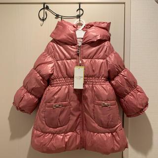 anyFAM - エニィファム 女の子 ダウンコート ピンク