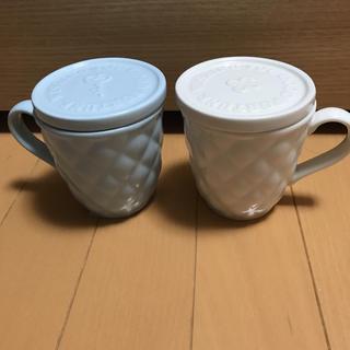 AfternoonTea - 新品 値札付 アフタヌーンティー  蓋付き マグカップ 2つセット
