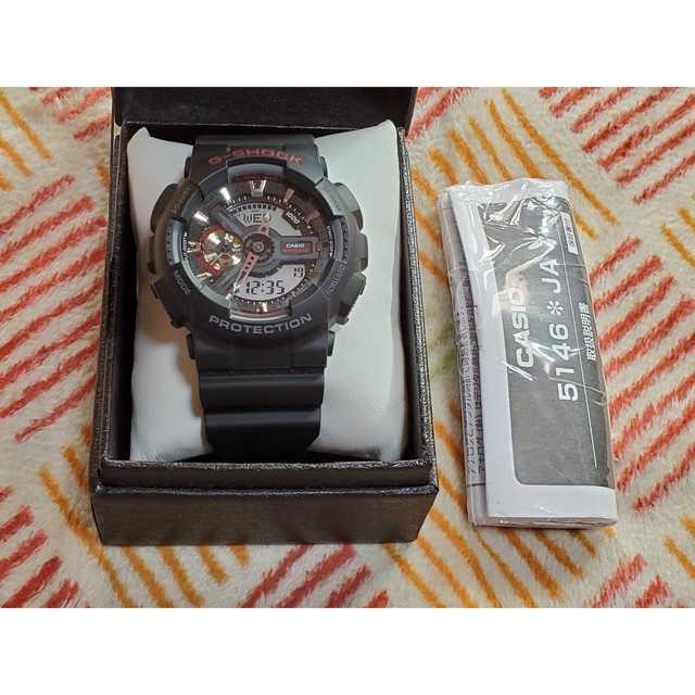 G-SHOCK   腕時計 ウォッチ GA-110-1AJFの通販