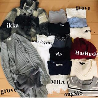 イッカ(ikka)の【Xmas sale♡】レディース 服 ブランド まとめ売り(セット/コーデ)