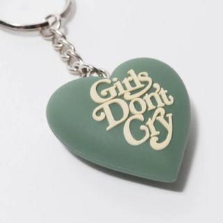 ジーディーシー(GDC)のgirls dont cry キーホルダー 緑(キーホルダー)