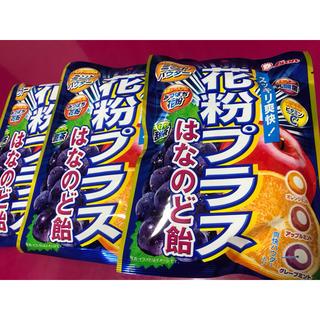 ライオン(LION)のライオン 花粉プラス はな のど飴 フルーツ ミント 70g × 3袋(菓子/デザート)
