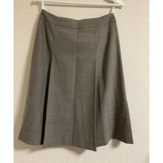 レリアン(leilian)のレリアンROCHAS Paris ウールスカート  M(ひざ丈スカート)