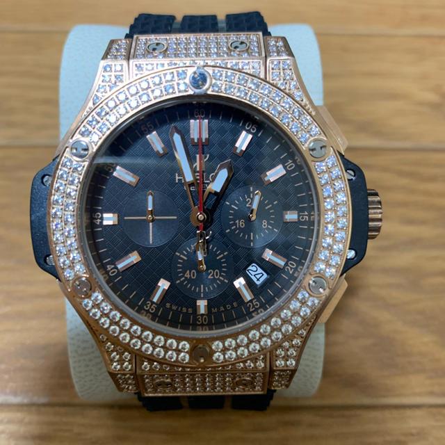 オメガ デビル 偽物 | HUBLOT - HUBLOT ウブロ ビックバン BIGBANG メンズ 腕時計 自動巻き の通販 by F's shop