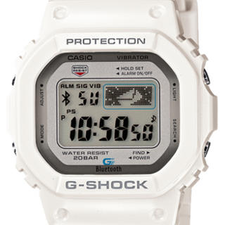 ジーショック(G-SHOCK)のG-SHOCK  GB-5600AA-7JF  白 カシオ(腕時計(デジタル))