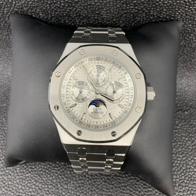 【 新品未使用】DIDUN DESIGN ムーンフェイズ 高級感のある腕時計の通販