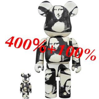 メディコムトイ(MEDICOM TOY)の新品!400% ベアブリック ダブルモナリザ double Mona Lisa(その他)