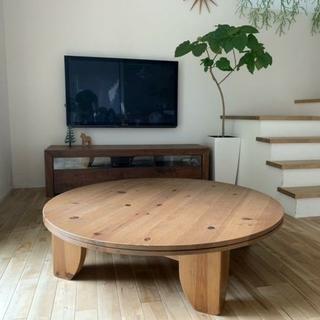 アクタス(ACTUS)のアクタスf1円卓テーブル(ローテーブル)