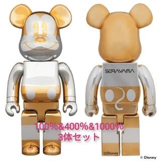 メディコムトイ(MEDICOM TOY)のBE@RBRICK SORAYAMA × FUTURE MICKEY 2G (キャラクターグッズ)