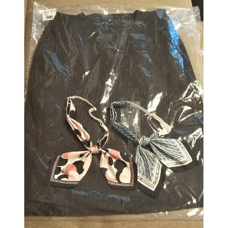 セシール(cecile)の【スカーフはつきません】事務服 ベスト スカート 11号 セット(スーツ)