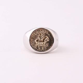 マルタンマルジェラ(Maison Martin Margiela)のTOMWOOD COIN RING GOLD 58(リング(指輪))