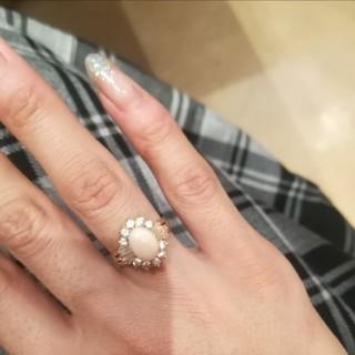 ピンクオパール指輪(リング(指輪))