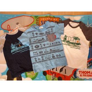 サンカンシオン(3can4on)のトーマスTシャツ 100 3can4on他 3枚セット(Tシャツ/カットソー)