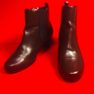 バリー(Bally)のBALLY バリー サイドゴア ショート ブーツ イタリア製 22.5(ブーツ)