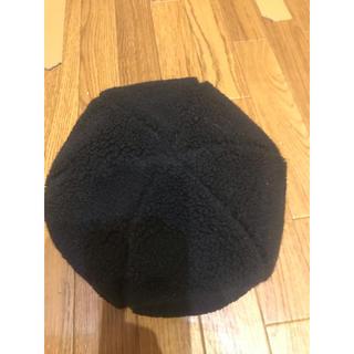ケービーエフ(KBF)のKBFボアベレー帽(ハンチング/ベレー帽)