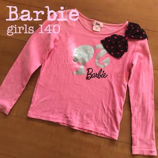 Barbie - Barbie バービー 女児長袖カットソー(ピンク, 140)