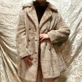 ロキエ(Lochie)の60s vintage ファーコート エコファー DEPT(毛皮/ファーコート)